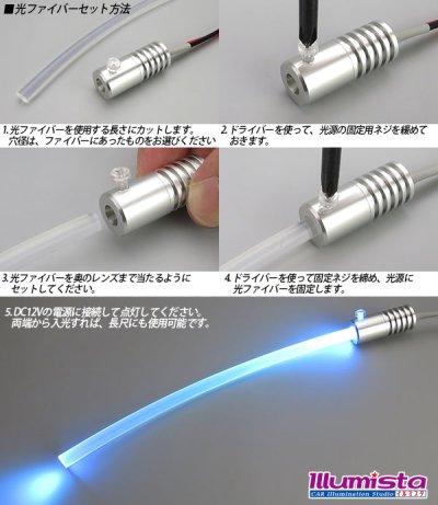 画像3: 光ファイバー用PowerLED光源 6mm