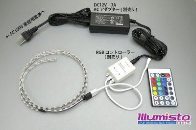画像2: 5050テープLED 96LED/m 非防水 RGB 1m