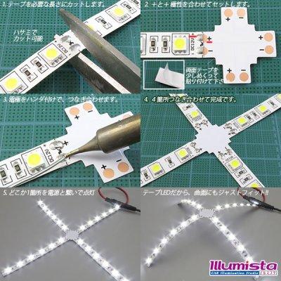 画像1: 10mm2芯十字基板 十-PCB-10