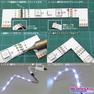 画像1: 10mm4芯L字基板 L-PCB-RGB