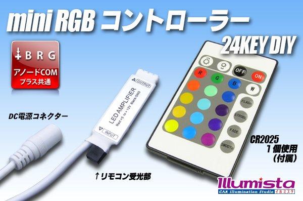 画像1: ミニ 24KEY RGBコントローラー (1)